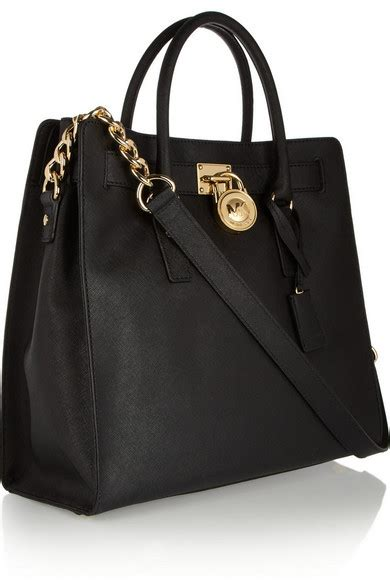 michael michael kors hamilton large textured leather
