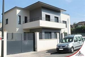 Cloture Maison Moderne : la vente la pose et l 39 installation de portails et ~ Melissatoandfro.com Idées de Décoration