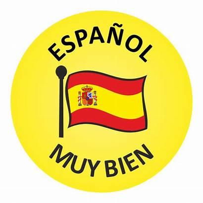Spanish Stickers Done Well Views Praise