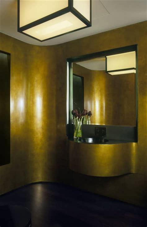 laight loft powder room modern powder room  york