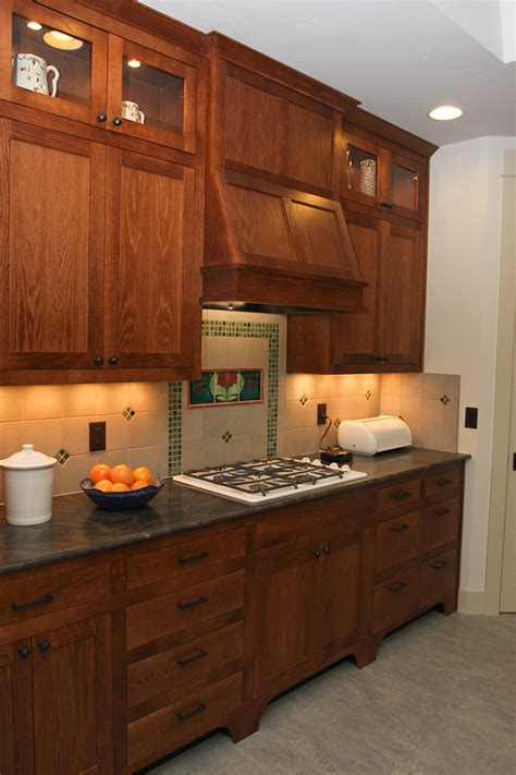 red oak kitchen brothers custom cabinets  furniture