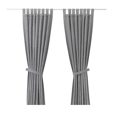 Ikea Lenda Curtains Australia by Lenda Curtains With Tie Backs 1 Pair Ikea