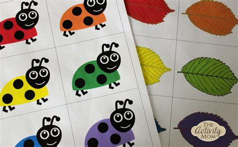 color matching activities for preschool the activity free printable matching 941
