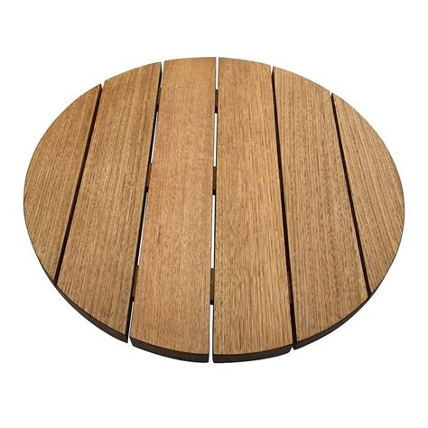 outdoor round wood table tops australian oak round outdoor table top apex