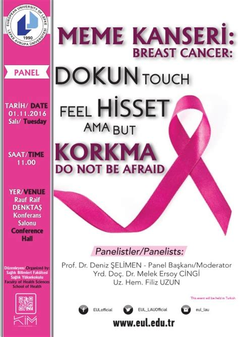 breast cancer touch feel afraid european university