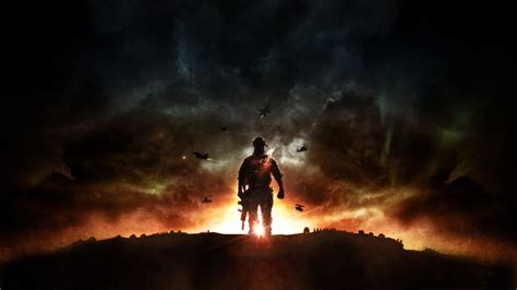 hd wallpaper call  duty dawn fighter