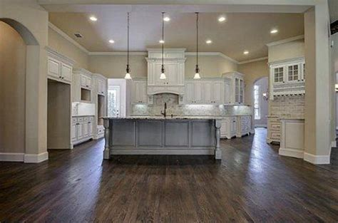 Small Kitchen Color Ideas Pictures - dream kitchen really like the open concept and the neutral colors in contrast with the dark