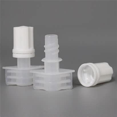 small caliber diameter mm pe recipe plastic spout cap  doypack