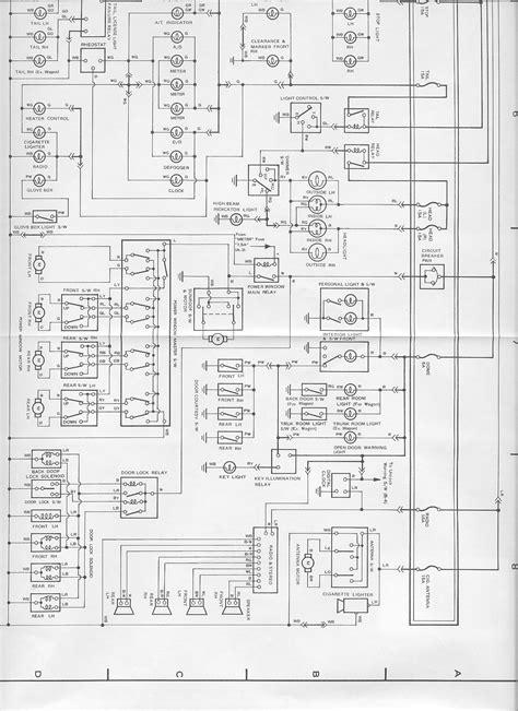 1990 Toyotum Supra Engine Diagram by 1989 Toyota Supra Fuse Diagram Wiring Diagram