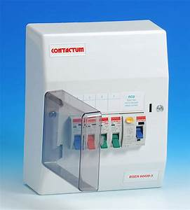 4 Way Insulated Consumer Unit