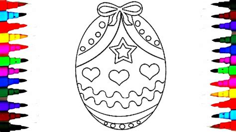 coloring pages easter egg surprise coloring book