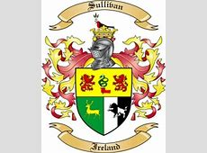 Sullivan Family Crest from Ireland by The Tree Maker