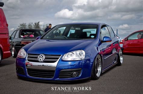 stanced volkswagen golf the gallery for gt gti mk5 stance