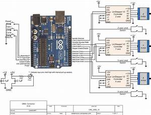 Diy Cscnc  U2013 5  Connecting All  Grbl  Linistepper  U0026 Limit