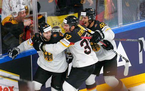 Berichterstattung über del, del2, nhl, oberliga, deb. Eishockey-WM: Deutschland gewinnt im Penaltyschießen gegen Lettland