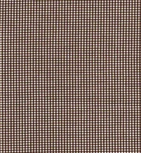 gingham fabric brown 1 16 quot discount drapery