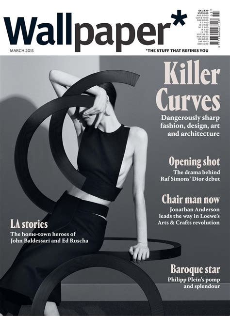 Wallpaper March 2015 Covers (wallpaper Magazine