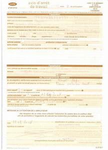Sortie Autorisée Arret Maladie : feuille arret de travail ~ Medecine-chirurgie-esthetiques.com Avis de Voitures