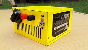 How To Make Selectable Voltage Power Supply From Computer