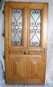 belle ancienne porte d39entree en chene occasion porte d With porte d entrée occasion