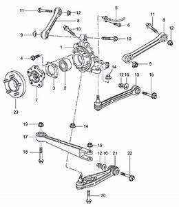 Control Arm  Coffin Arm  Wishbone Kit  Rear Porsche 996
