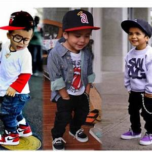 Aww too cute; little boy swag