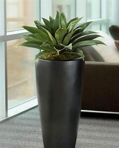 Lifelike Broad Leaf Agave Artificial Succulent Plant at