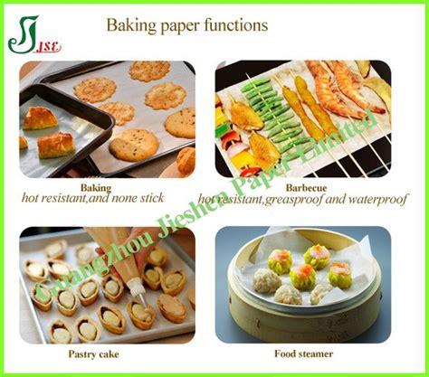 papier parchemin cuisine 39 41gsm silicone parchemin papier pour la cuisine à l