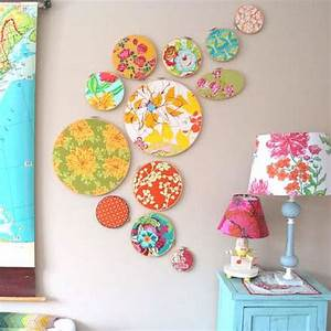 Best ideas about fabric wall decor on