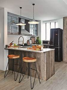 10 small space open concept kitchen designs 1072
