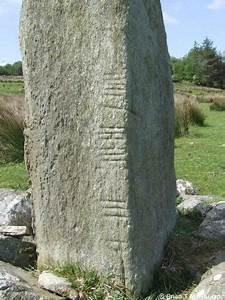 the straight aghascrebagh ogham stone