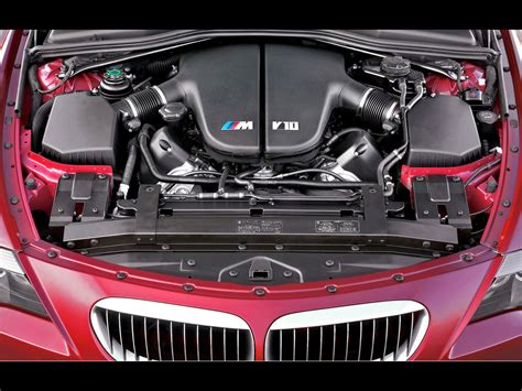 2006 Bmw M6  Engine Compartment  1600x1200 Wallpaper
