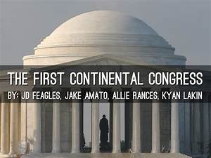The First Continental Congress by Jake Amato
