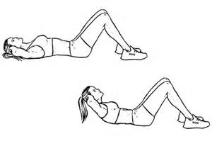 Crunches and Sit UPS