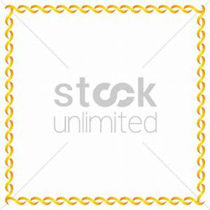 Simple pattern frame border Vector Image - 1343205 ...