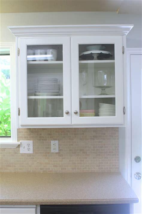 window pane kitchen cabinet doors remodelaholic big kitchen makeover on a little budget