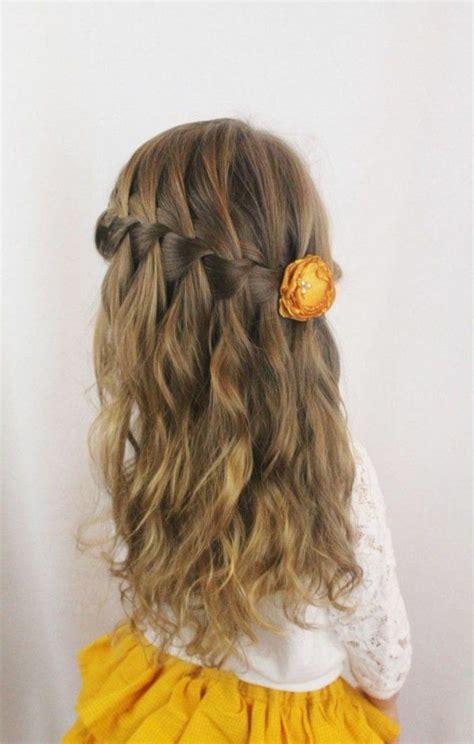 super frisur von einem kleinen maedchen hairstyling