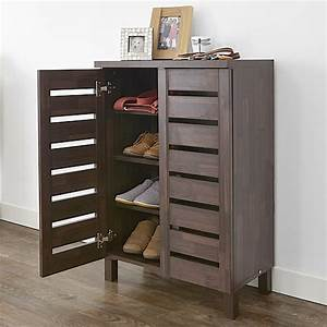 STORE Slatted Shoe Storage Cabinet