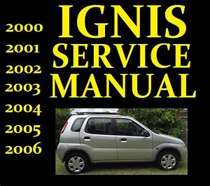 Suzuki Ignis Service Workshop Repair Manual Wiring Part
