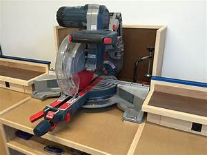 Miter Saw Station & Storage - by builtinbkyn @ LumberJocks
