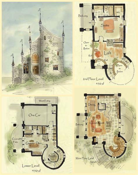 Cottage Homes Floor Plans by Real Fairytale Cottage Castle Floor Plans
