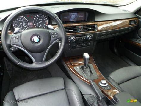 black interior  bmw  series  sedan photo