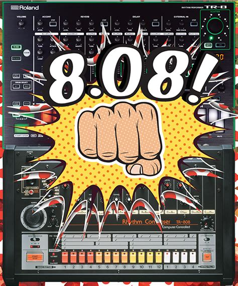 Roland Tr-808 Worldwide Anniversary Party On August 8