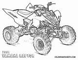Wheeler Coloring Pages Four Raptor Yamaha Boys Atv Quad Wheelers Polaris Drawing Visit Rzr Sheets Coloringkidsboys Truck Printable Colouring Bike sketch template