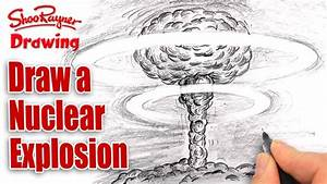 How To Draw A Nuclear Explosion - Mushroom Cloud
