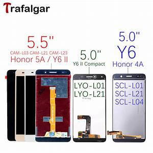 Huawei Y6 Lcd Display Touch Screen Digitizer Scl L01 L21