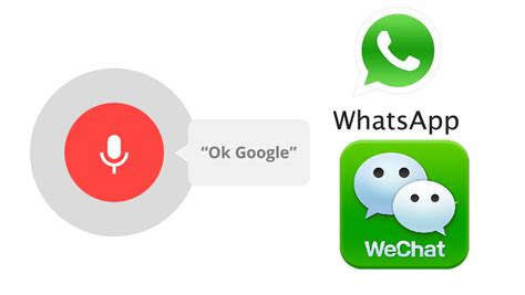 Send Whatsapp And Wechat Texts On Android Using Ok Google