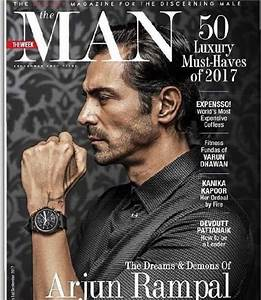 Arjun Rampal strikes an intense pose on the cover The Man