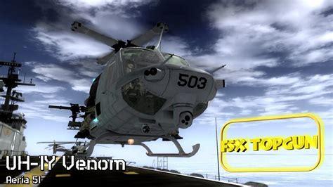 Fsx Area51 Bell Uh 1y Venom Youtube