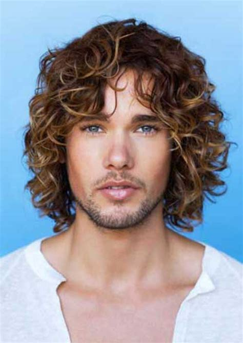 20  Guys with Long Curly Hair   Mens Hairstyles 2017